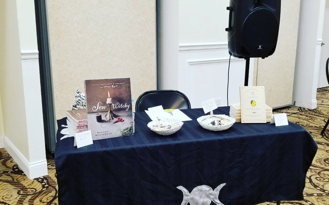 My First Author Event: Working the Chicago Witchcraft Expo