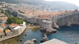 Dubrovnik from the North Fort