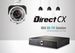 IDIS DirectCX - Full HD surveillance over coax