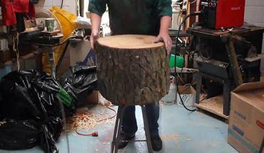 Δείτε τι έφτιαξε αυτός ο ξυλουργός