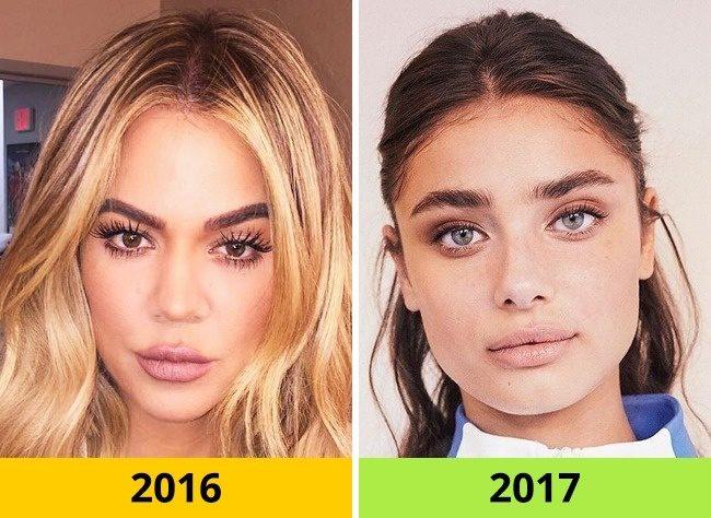 10 Τάσεις στα Μαλλιά και το Μακιγιάζ που ήταν Φέτος στη Μόδα αλλά το 2017 θα Θεωρούνται ξεπερασμένες. 2