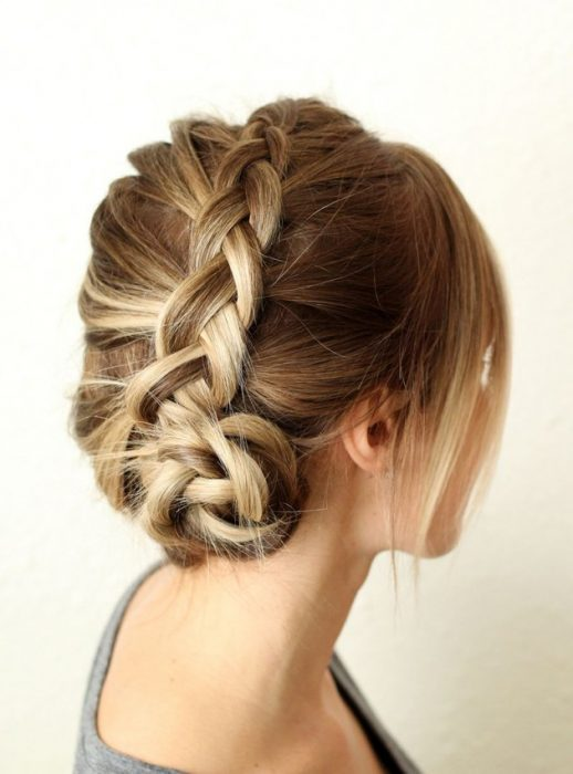 Χειμωνιάτικα χτενίσματα με πλεξούδες για όλα τα μήκη μαλλιών! 4