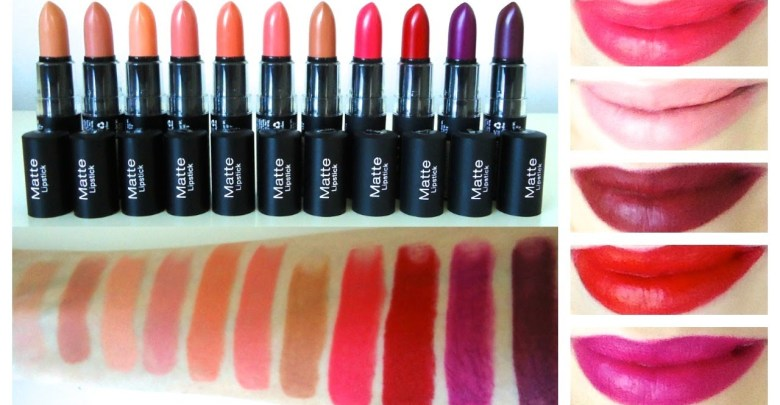 NYX Lipstick Matte Review