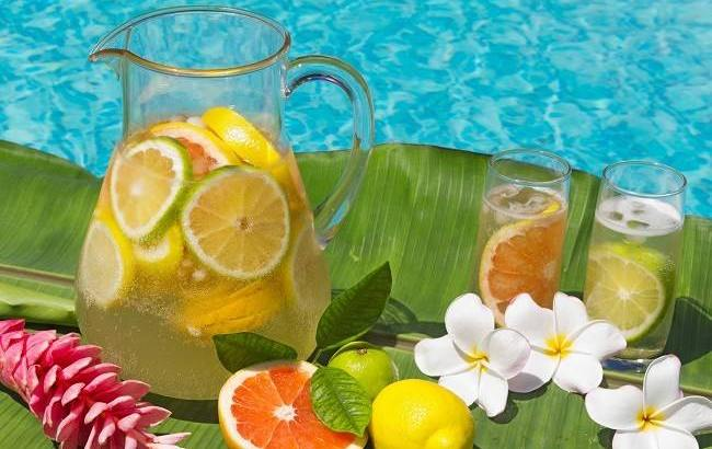 Manfaat Infused Water Bahan Teh Hijau Citrus