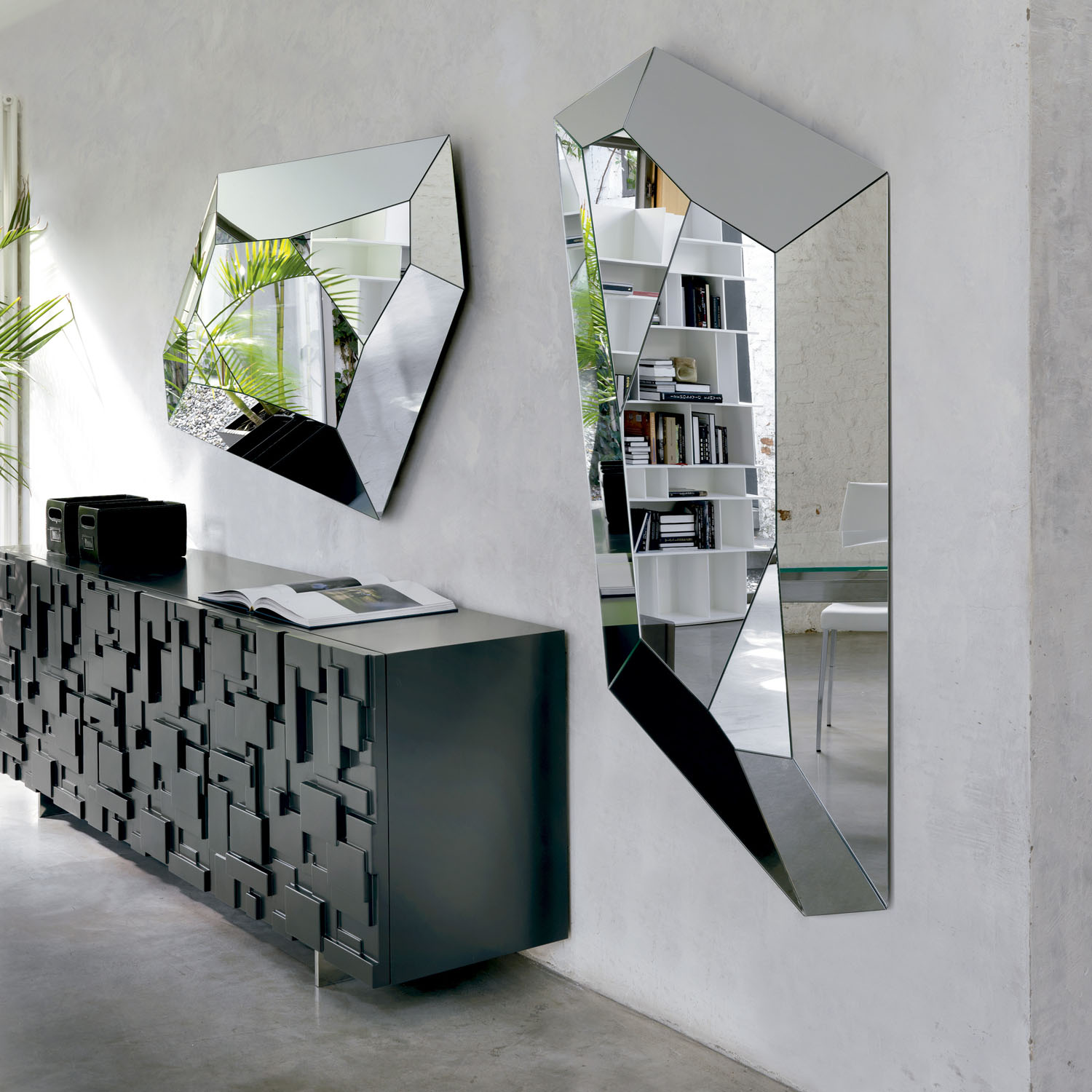 buffet salon design mondrian idkrea collection d exception