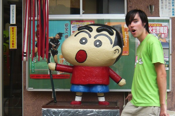 Crayon-chan and John