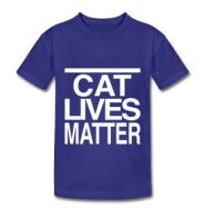 All cats deserve love. Click on this shirt to find it in the Idle Thoughts online shop.