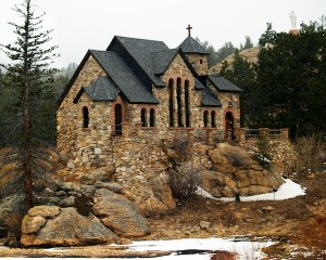 Church in Colorado Mountains