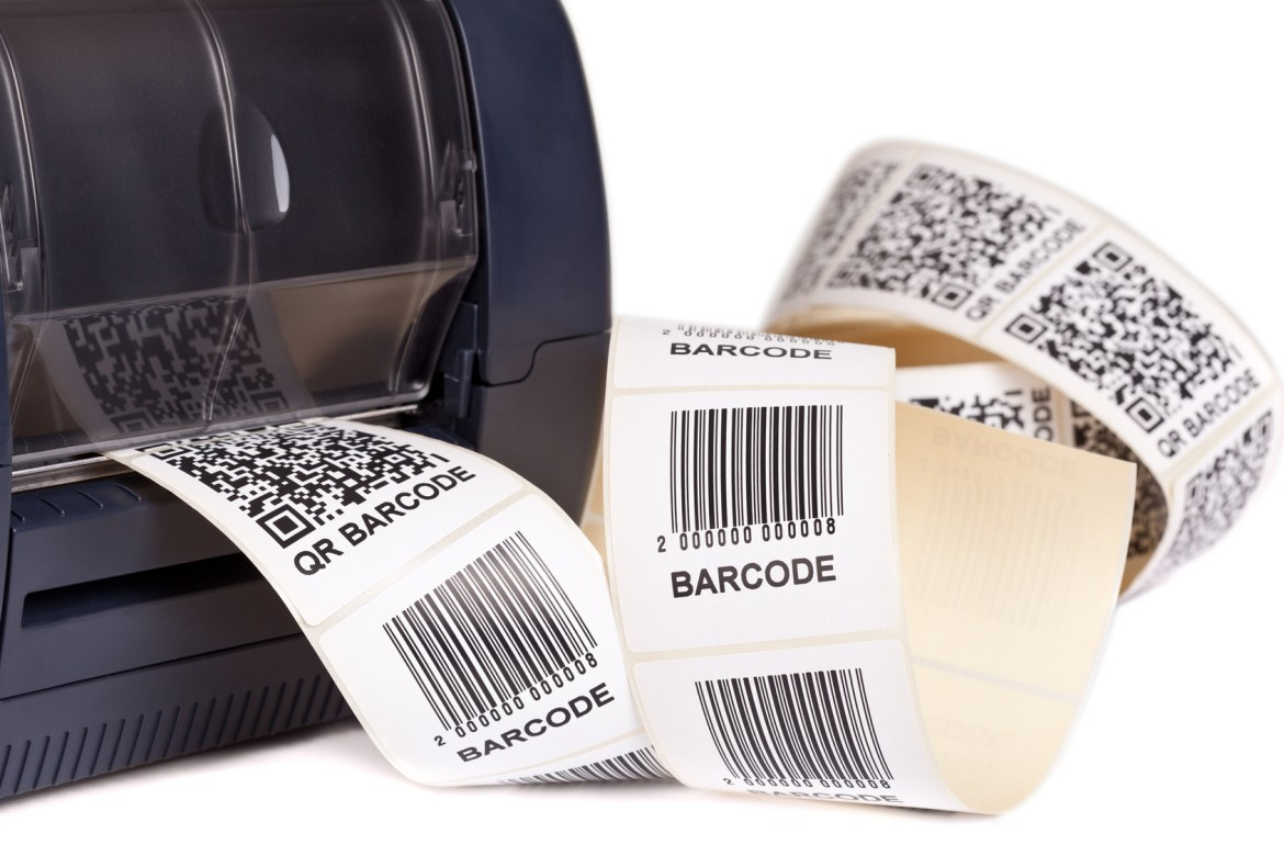 Barcode labels, barcode printers, Dane Titsworth