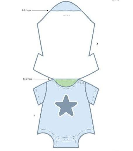 Moldes Para Extraordinario Invitaciones De Baby Shower