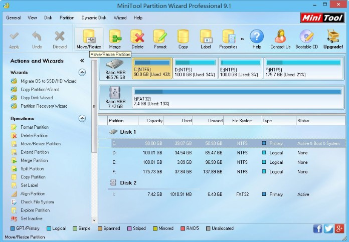 MiniTool Partition Wizard Crack License KEY