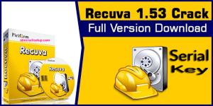 Piriform Recuva 1.53.1087 Pro Crack + Full Keygen Download 2020