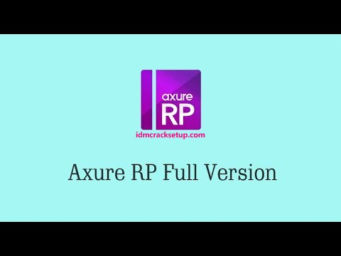 Axure RP Pro Crack 9.0.0.3716 With License Key 2020 [Latest Version]