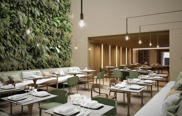 À l'hôtel Emiliano, le restaurant joue la carte française du chef Damien Montecer