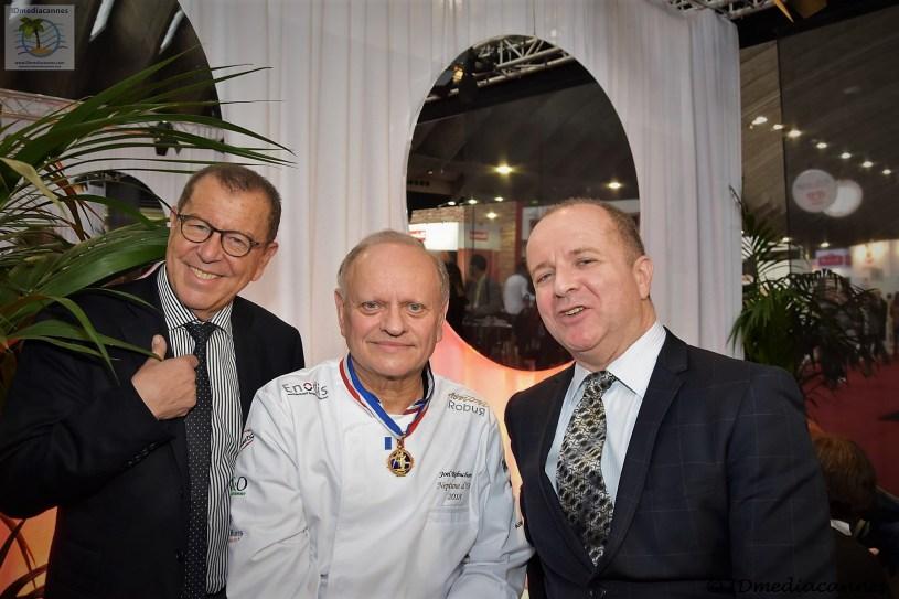 Paul Obadia & Joël Robuchon & Alain Delfils