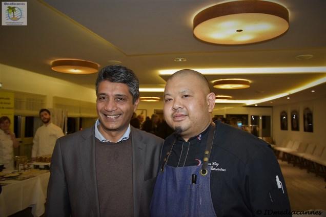 Thierry Naidu & Akhara Chay
