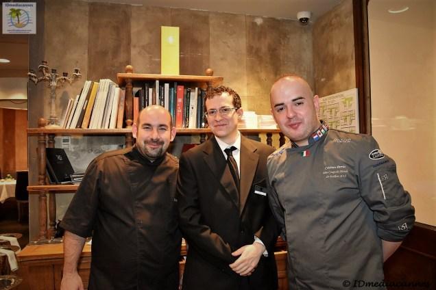Julien Matteo & Liam & Cristian Perria