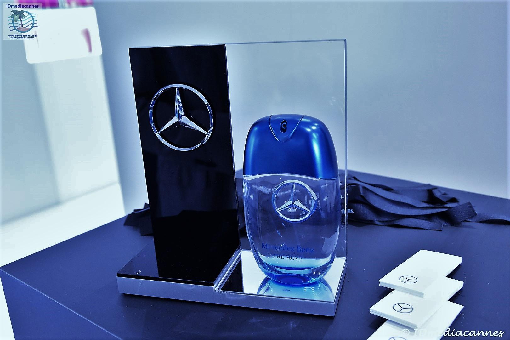 INCC Parfums & Mercedes-Benz THE MOVE Cannes 2018 – TFWA – IDmediacannes