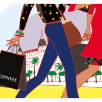 """ Sales and the city "" ... soldes d'hiver festives à Cannes"
