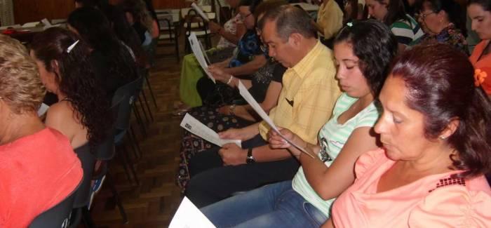 Primera reunión en Bellaunión – Uruguay