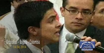 Testimonio en Bogotá Colombia