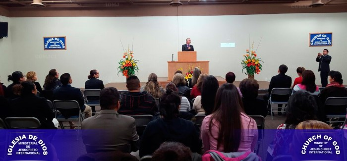 Visita Hno Andrés Carrillo a la Iglesia de Las Vegas-Nevada-USA