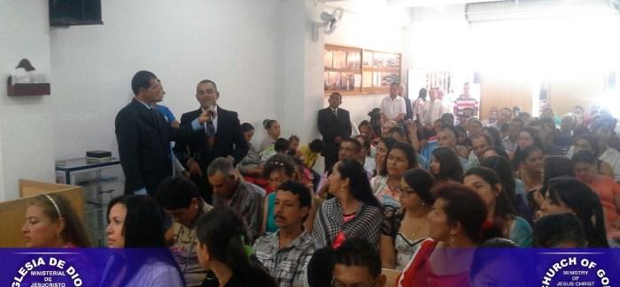 Fotos cambio local Iglesia Mistrató Risaralda