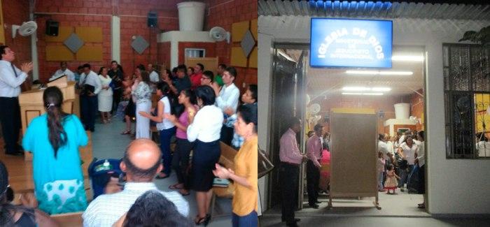 Fotos nueva Iglesia en Llano Lindo, Yopal (Colombia)