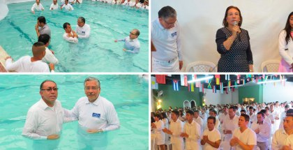 Baptisms in Duitama, Colombia – Noviembre 2016