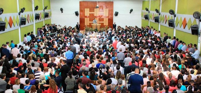Inauguración Iglesia de Dosquebradas (Risaralda, Colombia)