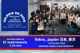 Estudio Bíblico: Consejos para el matrimonio, Tokio – Japón