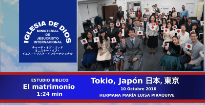 Bible Study: Advice for Married Couples – Tokyo, Japan