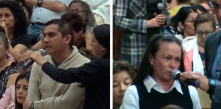 Testimonios en Cali y Bogotá (Colombia) – Marzo 2017