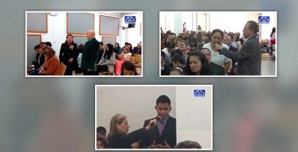 Testimonios en Cajicá, Turmequé y Bogotá (Colombia) Marzo 2017