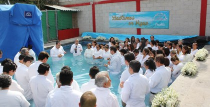 Water Baptisms in Puebla, Mexico – April, 2017 (Gallery)