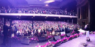 Photos from the Bible Study at Ritz Theater, Elizabeth, NJ, USA – April 23, 2017