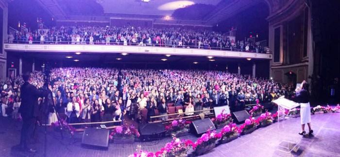 Fotos del Estudio Bíblico en el teatro Ritz, Elizabeth, New Jersey (USA) – 23 de Abril de 2017