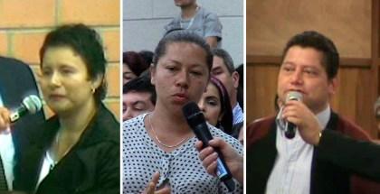Testimonios en Orquídeas y Calle 80, Bogotá, y Manizales (Colombia) Mayo 2017