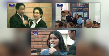 Testimonios en Bogotá y Soacha (Colombia) – Julio 2017