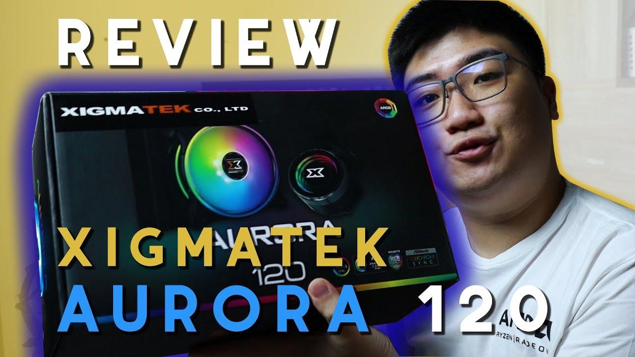 [Review Cooler] Xigmatek Aurora 120 by Digital Essence