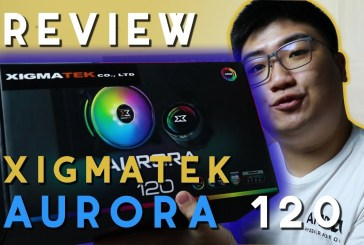 [Review Cooler] Xigmatek Aurora 120 by Digital Essence