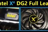 Gambar Intel Xe-HPG (DG2) 512EU graphics card Telah Keluar