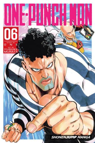 OnePunch-Man Cover 6