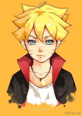 Boruto Uzumaki Unique Face