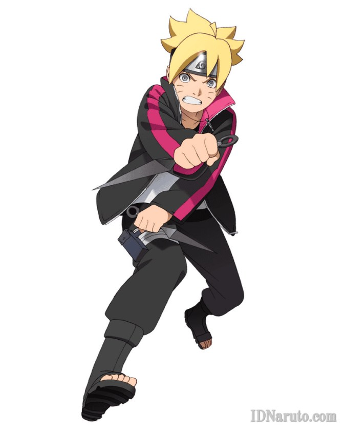 Boruto Uzumaki Ready To Attack Series