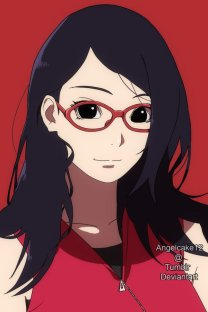 Sarada uchiha grow up angelcake12