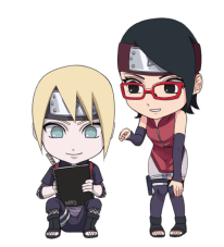 Sarada and inojin nattouh