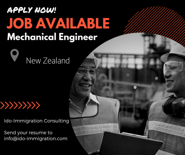 招聘:紐西蘭 機械工程師 (滿額)