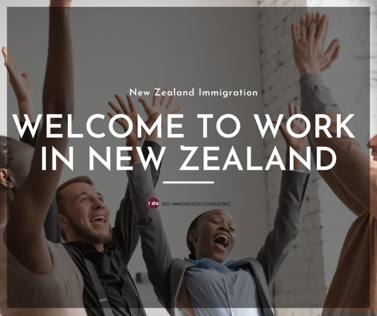 IDO-IMMIGRATION New Zealand immigration Welcome to work in New Zealand