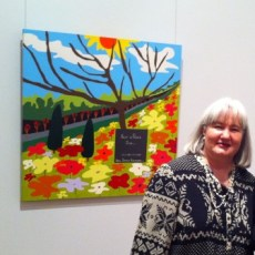 "TAC's ""Picture This"" Exhibition 2011 at Geelong Gallery. Painting No. 45D Titled 'Rest in Peace Ben"" by Abstract Artist: Karen Robinson NB: All images are protected by copyright laws!"